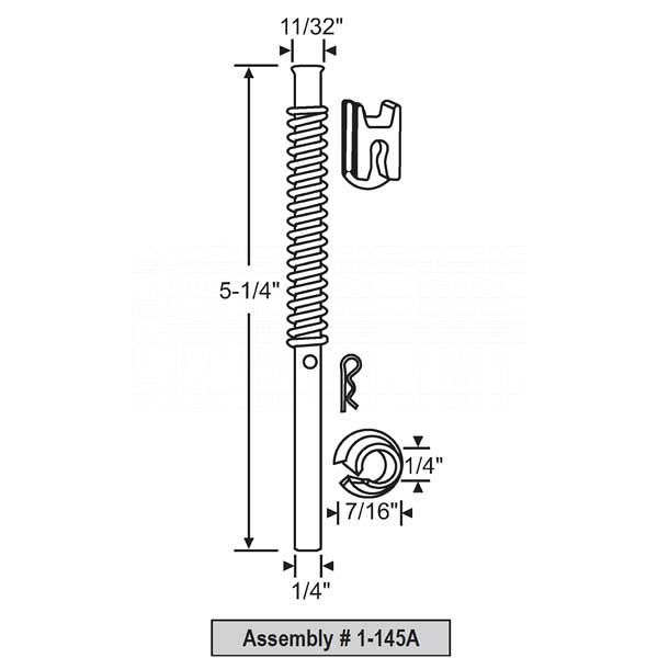 Pin Assembly 1-145A 1
