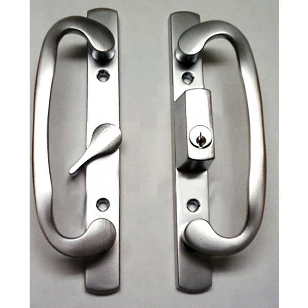 2265 Sash Controls Handle 13-291BCK Brushed Chrome with Keys 1