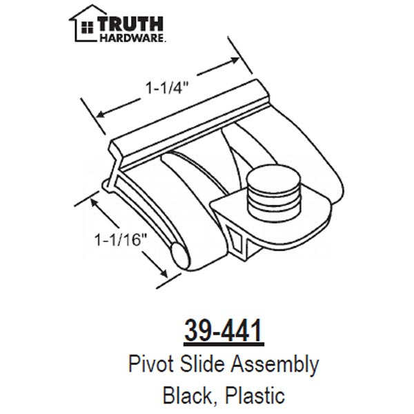 Pivot Slide Assembly 39-441 1