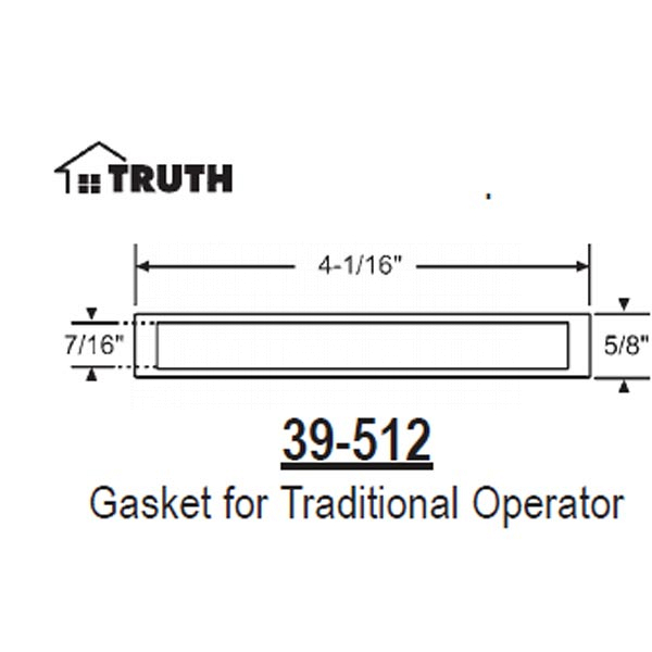 Gasket Traditional Series Operator 39-512 1
