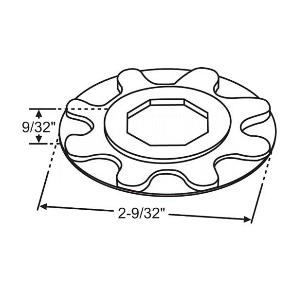 Roto Star Sprocket 39-808 1