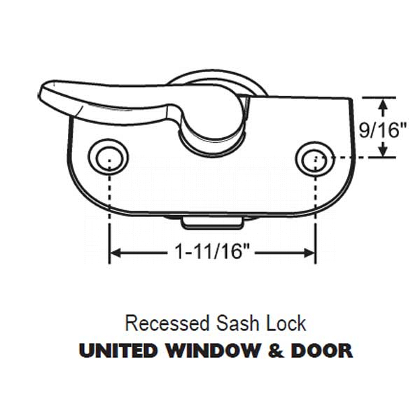 Sweep Lock 50-2028W 1