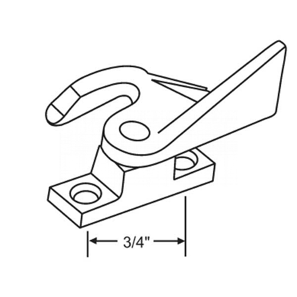 Sweep - Sash locks 50-610 2
