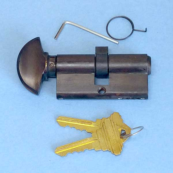 Hoppe 90 degree Key Cylinder 3637251 2