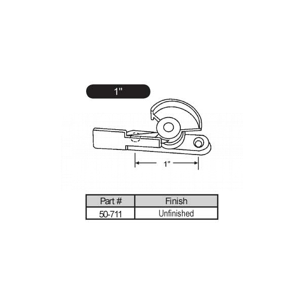 Sweep and Sash locks 50-711 1