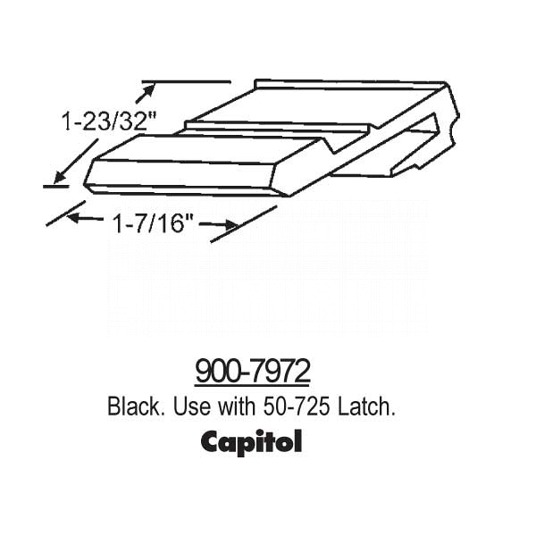 Latches-Spring Type Slider 900-7972 1