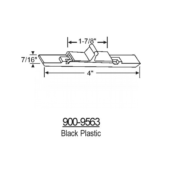 Latches-Spring Type Slider 900-9563 1