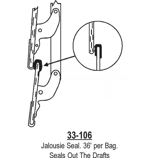 Jalousie Seal 33-106 1