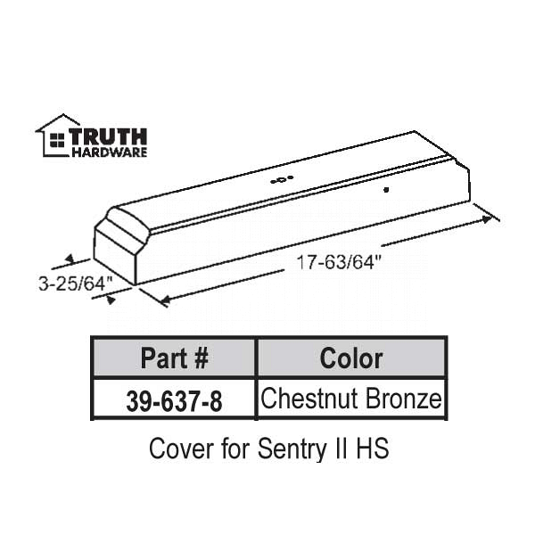 Cover for Sentry II 39-637-8 1