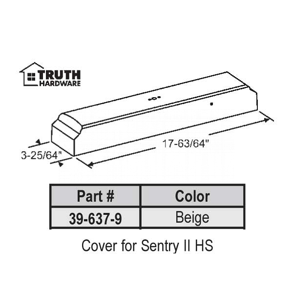 Cover for Sentry II 39-637-9 1