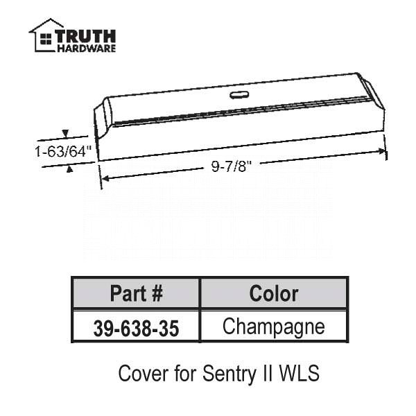 Cover for Sentry II 39-638-35 1