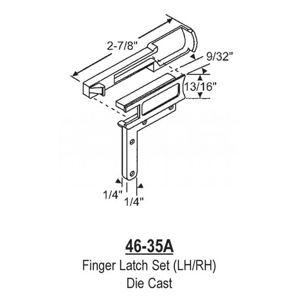 Finger Latch 46-35A 1