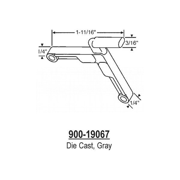 Corner Key, Die Cast  900-19067 1