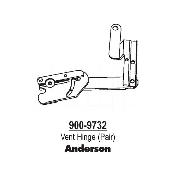 Anderson Vent Hinge 900-9732 1